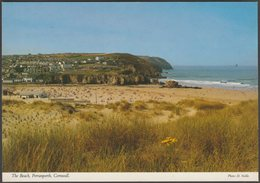 The Beach, Perranporth, Cornwall, C.1980  - John Hinde Postcard - England