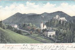 KLAMM Am Semmering (NÖ) - Schule, Kirche Und Ruine, Gel.1905? - Autriche