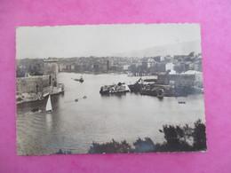 CPA 13 MARSEILLE ENTREE DU VIEUX PORT ECHOUAGE BATEAU - Old Port, Saint Victor, Le Panier