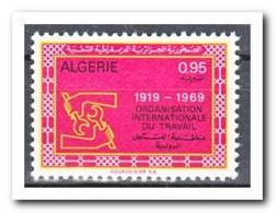 Algerije 1969, Postfris MNH, 50 Years ILO - Algerije (1962-...)