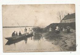 Cp,37 ,MOSNES , Au Bord De La Loire à La POTERIE , écrite 1915 - Frankrijk