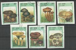 Vietnam 1987, Used Stamps  Imperf. - Viêt-Nam