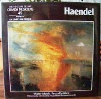 33 TOURS N°45 VINYLE GRANDS MUSICIENS 1 LIVRE+1 DISQUE 1990 HAENDEL WATER MUSIC/FEUX D'ARTIFICE MINNESOTA ORC - Serbon63 - Classical