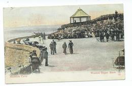 Somerset Madeira Cove Weston Super Mare Milton Postcard Squared Circle Boxmoor Posted 1905 - Weston-Super-Mare