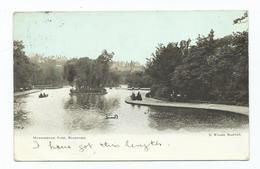 Yorkshire Bradford Manningham Park  Postcard Squared Circle Bradford Posted 1904 - Bradford