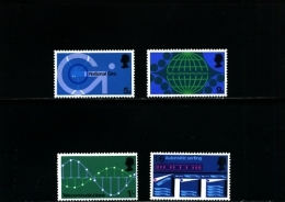GREAT BRITAIN - 1969  P.O.  TECHNOLOGY  SET  MINT NH - 1952-.... (Elisabetta II)