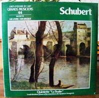 33 TOURS N°44 VINYLE GRANDS MUSICIENS 1 LIVRE+1 DISQUE 1990 SCHUBERT QUINTETTE LA TRUITE LOUIS KENTNER PIANO E- Serbon63 - Classique