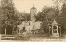 Dép 63 - Chateaux - Escoutoux - Environs De Thiers - Château De La Verchère - état - France