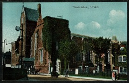 RB 1215 - Early Postcard - Town Hall Dover - Kent - Dover