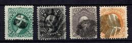Etats-Unis YT N° 22/25 Oblitérés. B/TB. A Saisir! - Used Stamps