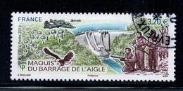 2016 N 5078 BARRAGE DE L'AIGLE OBLITERE CACHET ROND  #228# - Oblitérés