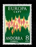 Andorre Espagnol Europa 1972 Neuf ** MNH. TB. A Saisir! - Spanish Andorra