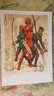 """""""ROBIN HOOD"""" - OLD USSR Postcard -1975 - ARCHERY - Archer - Tir à L'Arc"""