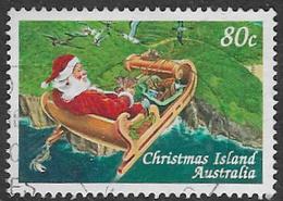 Christmas Island SG439 1997 Christmas 80c Good/fine Used [38/31198/6D] - Christmas Island