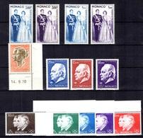 Monaco Belle Petite Collection De Poste Aérienne Neufs ** MNH 1959/1982. Bonnes Valeurs. TB. A Saisir! - Airmail
