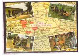 15739   -   REP.CENTRAFRICANA       /    VIAGGIATA - Repubblica Centroafricana