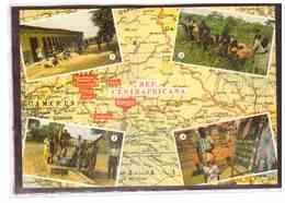 15739   -   REP.CENTRAFRICANA       /    VIAGGIATA - Central African Republic