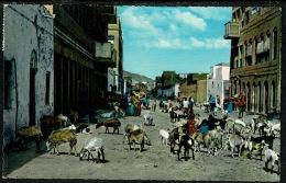 RB 1214 - British Forces Ethnic Postcard - Street Scene Maalla Village - Aden Yemen - Yemen