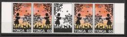 Tonga - 1993 - N°Yv. 908 à 909 - Bande Family - Surcharge / Overprint SPECIMEN - Neuf Luxe ** / MNH - Tonga (1970-...)