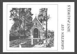 Sint-Pauwels - H. Jozefkapel Pastorijstraat - Illustratie - Nieuwstaat - Sint-Gillis-Waas