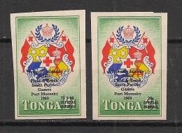 Tonga - 1968 - Service N°Yv. 19 à 20 - South Pacific Games - Neuf Luxe ** / MNH - Tonga (1970-...)