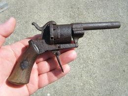 Pistolet Style Lefaucheux Pour Restauration Ou Pieces - Armes Neutralisées