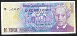 NICARAGUA   P166  10.000.000 CORDOBAS   1990   UNC. - Nicaragua