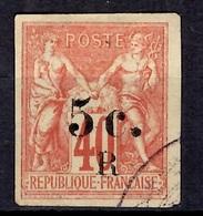 Réunion YT N° 8 Oblitéré. B/TB. A Saisir! - Reunion Island (1852-1975)