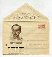 COVER USSR 1974 SOVIET CHEMIST L.V.PISARZHEVSKIY #74-12 - 1970-79
