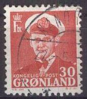 GRÖNLAND 1959 Mi-Nr. 44 O Used - Groenlandia