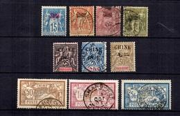 Chine Française Belle Petite Collection D'anciens 1894/1905. Bonnes Valeurs. B/TB. A Saisir! - China (1894-1922)