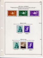 Collection Egypte 1952 - 1958 Et 1961 - 1967 Selon Scan, Neuf *, Dans Album Lindner, - Egypt