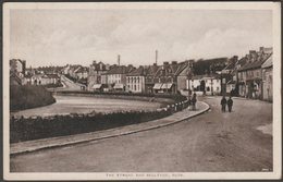 The Strand And Bellevue, Bude, Cornwall, 1920 - Hawking Postcard - England