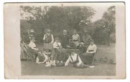 C1915 - Carte Photo Loncin - Animée - Joueurs De Cricket - Lisette Famille JOAKIM - 2 Scans - Ans