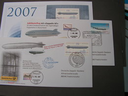 BRD Lot Briefe Zeppelin - Lots & Kiloware (mixtures) - Max. 999 Stamps