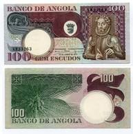 Angola - 100 Escudos 1973 - Angola