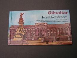 Gibraltar MH Booklet ** MNH - Gibraltar