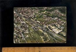 SULZBACH Am SAAR : Lufbild Am Stadt Dorf  1964 Zug Bahnhof Gare Ferroviaire Railway Train Station - Germany