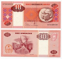 Angola - 10 Kwanzas 1999 - Angola
