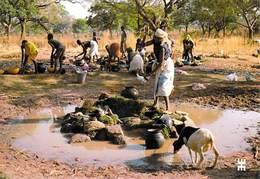 Afrique-BURKINA FASO -En Pays SENOUFO BLEDUGU Province Comoé Point D'eau Le Centre De La Vie*PRIX FIXE - Burkina Faso