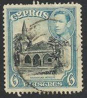 Cyprus, 6 Pi. 1938, Sc #150, Mi # 149, Used. - Cyprus (...-1960)