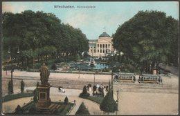 Kursaalplatz, Wiesbaden, Hessen, C.1905-10 - Ottmar Zieher AK - Wiesbaden