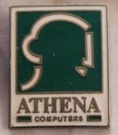 ATHENA COMPUTERS - VISAGE - TETE - ORDINATEURS   -           (NOIR) - Computers