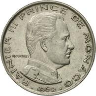 Monnaie, Monaco, Rainier III, Franc, 1960, TB+, Nickel, KM:140, Gadoury:MC 150 - Monaco