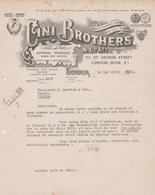 LONDON GINI BROTHERS - United Kingdom