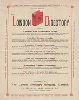 LONDON DIRECTORY - United Kingdom