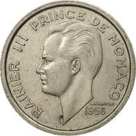 Monnaie, Monaco, Rainier III, 100 Francs, Cent, 1956, TTB, Copper-nickel, KM:134 - Monaco