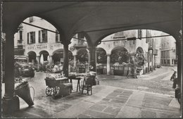 Portici Di Via Pessina, Lugano, Ticino, C.1950 - Mayr Foto Cartolina - TI Ticino