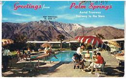 31  PLM  SPRINGS  CALIFORNIA       TBE     AU222 - Palm Springs