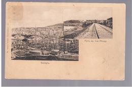 Vladivostok Railway 1907 OLD POSTCARD 2 Scans - Russie